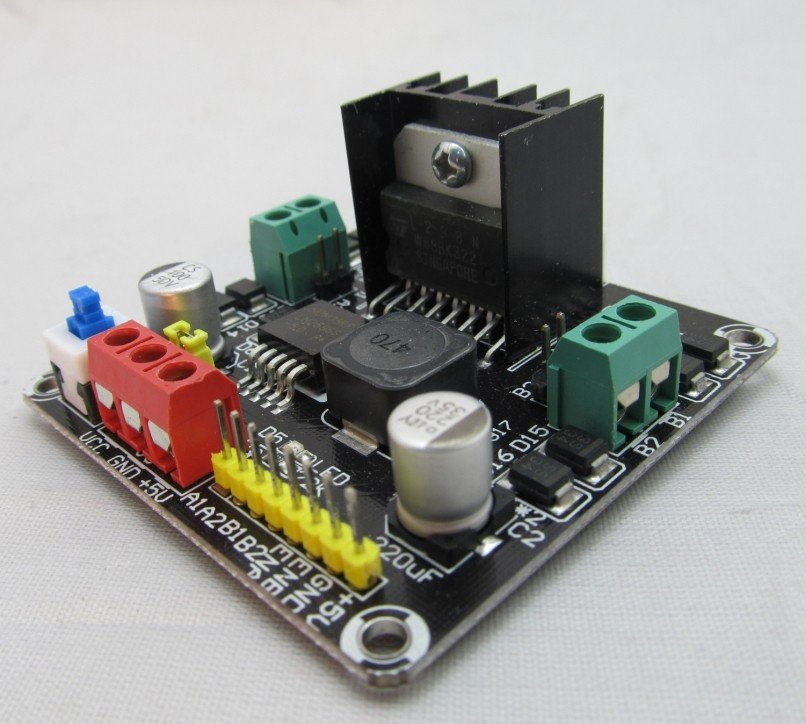 2dc Motor Controller Compatible With Arduino For 2wd Robot