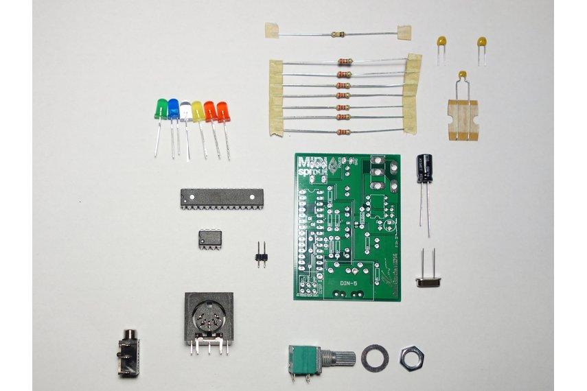 MIDI Biodata Sonification Device (DIY-Kit)