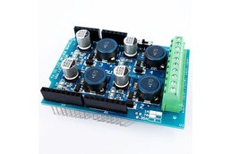 4 channel PWM high power led shield for Arduino (0,35-0,7-1A)