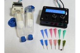 DM dispenser, for solder pastes and adhesives.