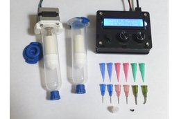 DM dispenser, for solder paste and adhesives