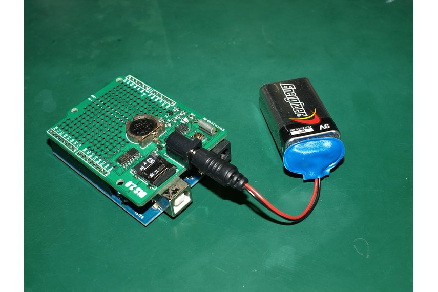 Extreme low power data logging shield for Arduino