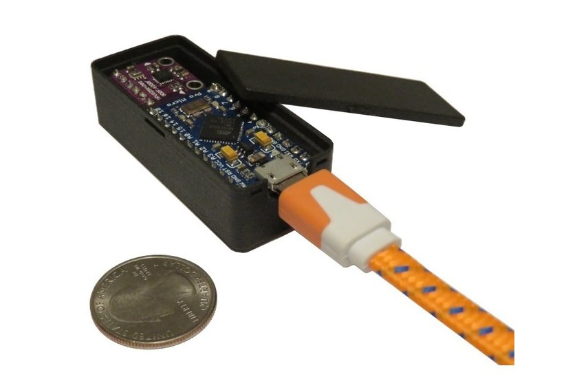 TrackIMU (DIY Kit): IMU-Based Wearable Head Track