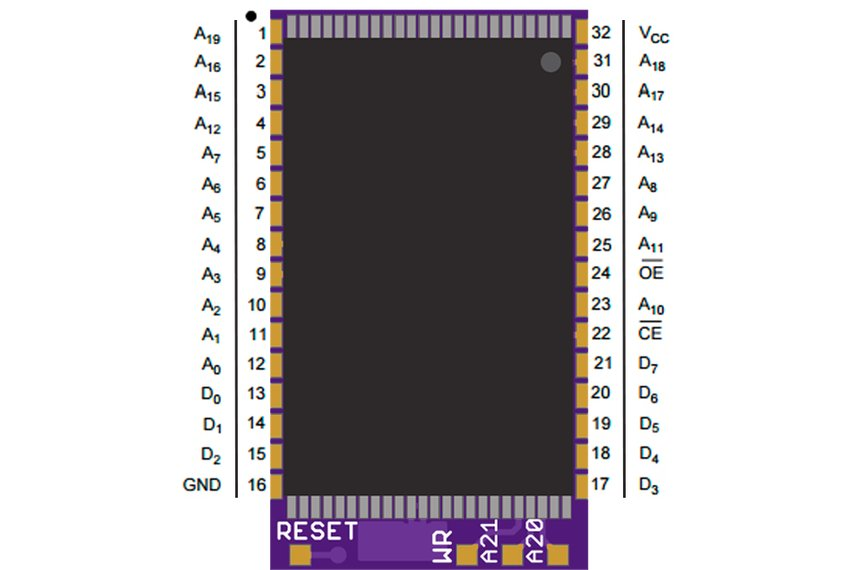 Flash Memory Adapter for some Game Boy Cartridges
