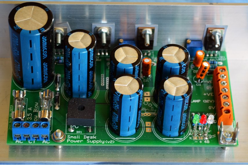 PCB for Mixing desk PSU, equivalent to CPS150