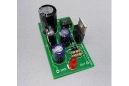 Adjustable DC Power Supply Kit (#1725)