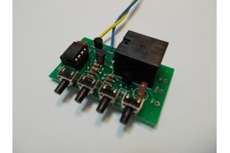 PIC 8-Pin Development Kit, 9v Relay (#5620)