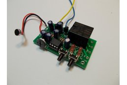 Sound Controlled Relay Kit - 9v (#5622)