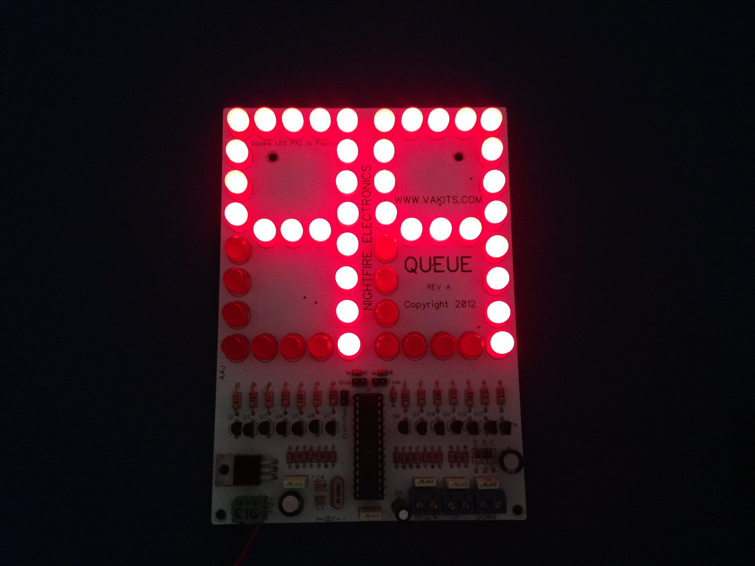 Display Counter Circuit Board : Quot led scoreboard kit up down counter from