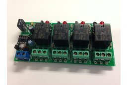 Adjustable Alternating 4 Relays Kit, 12v (#5458)