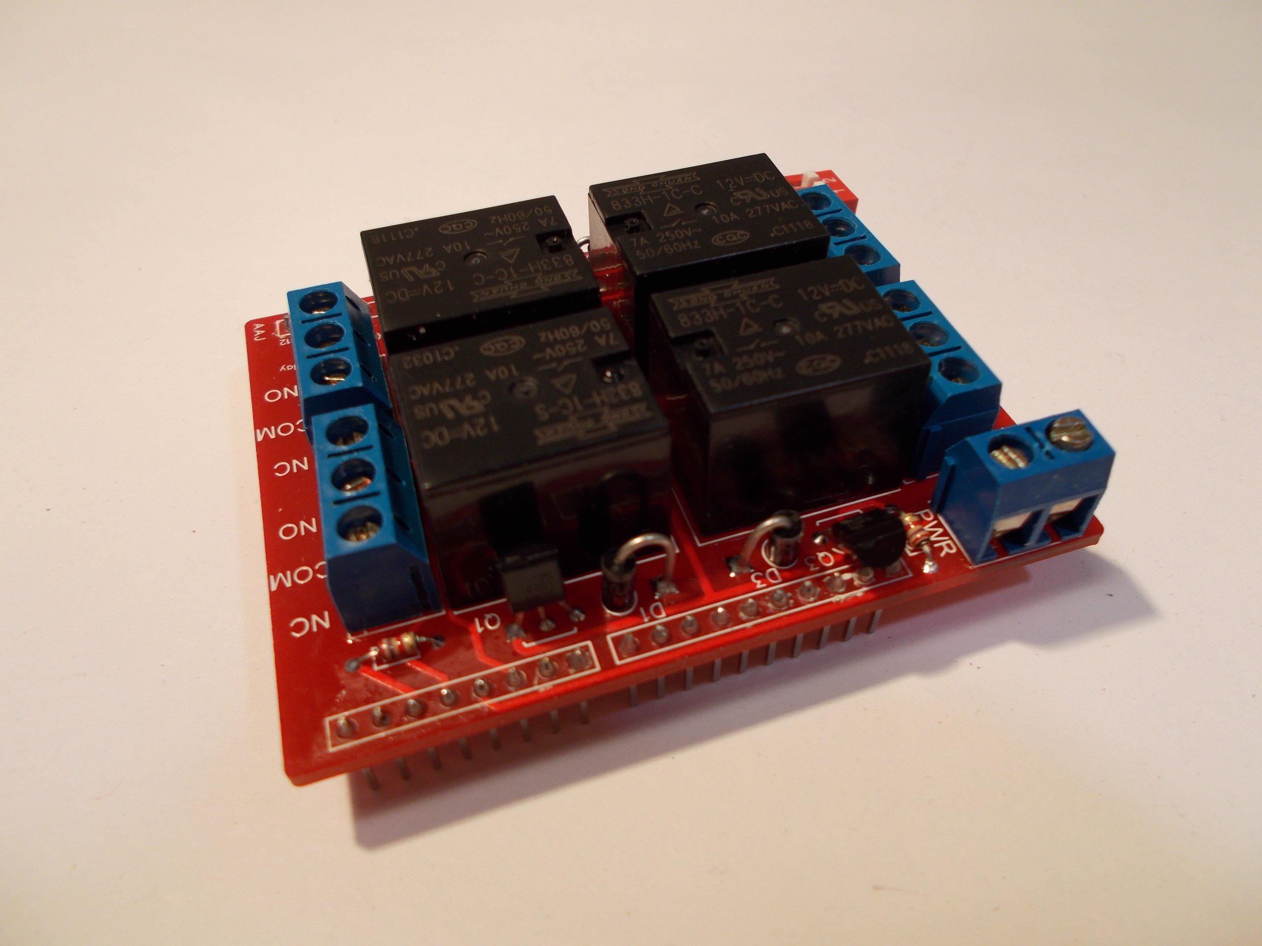 Arduino relay shield kit v from nfceramics on tindie