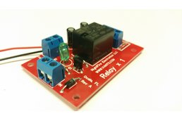 Single Relay Module Kit - Selectable Coil Voltage
