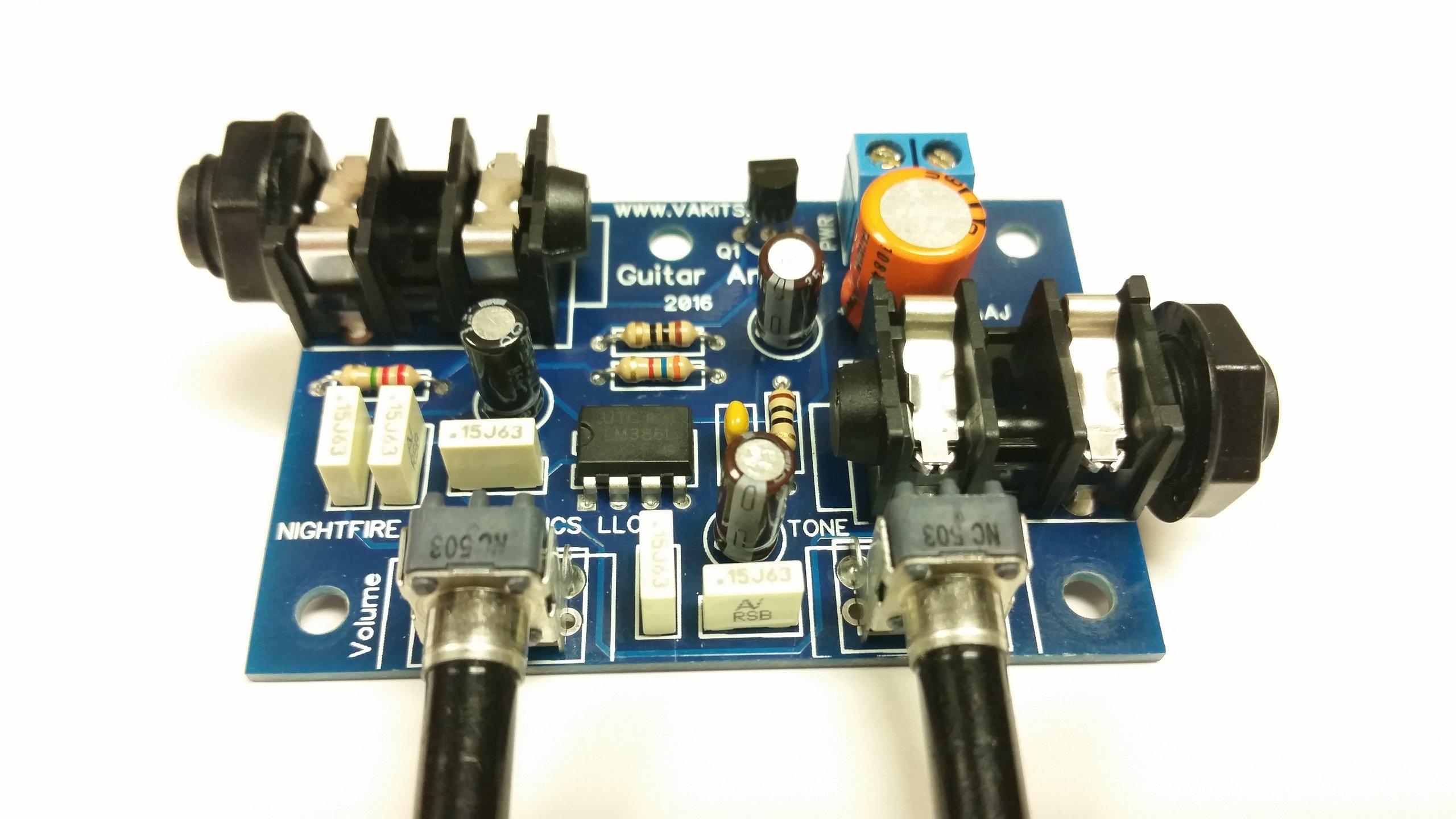 guitar mini amplifier kit 1127 from nfceramics on tindie. Black Bedroom Furniture Sets. Home Design Ideas