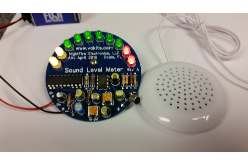 LED Sound Level Meter Kit