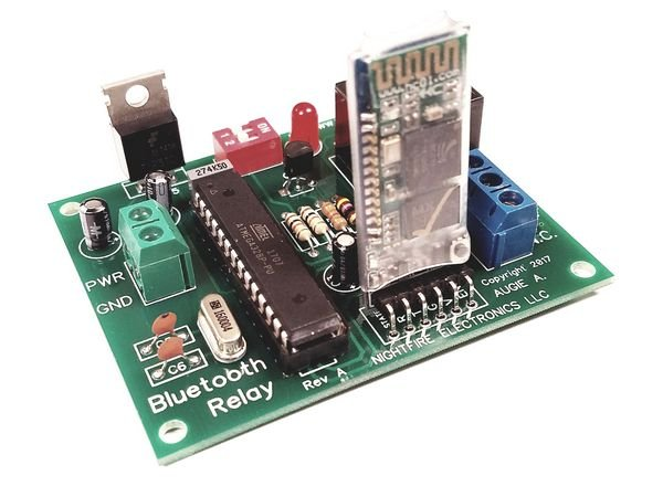 Arduino bluetooth relay board kit from nfceramics on tindie