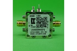 Amplifier LNA 0.9dB NF 600MHz to 6GHz 21dB Gain