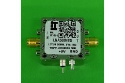 Amplifier LNA 1.3dB NF 0.5GHz to 8GHz 21dB Gain