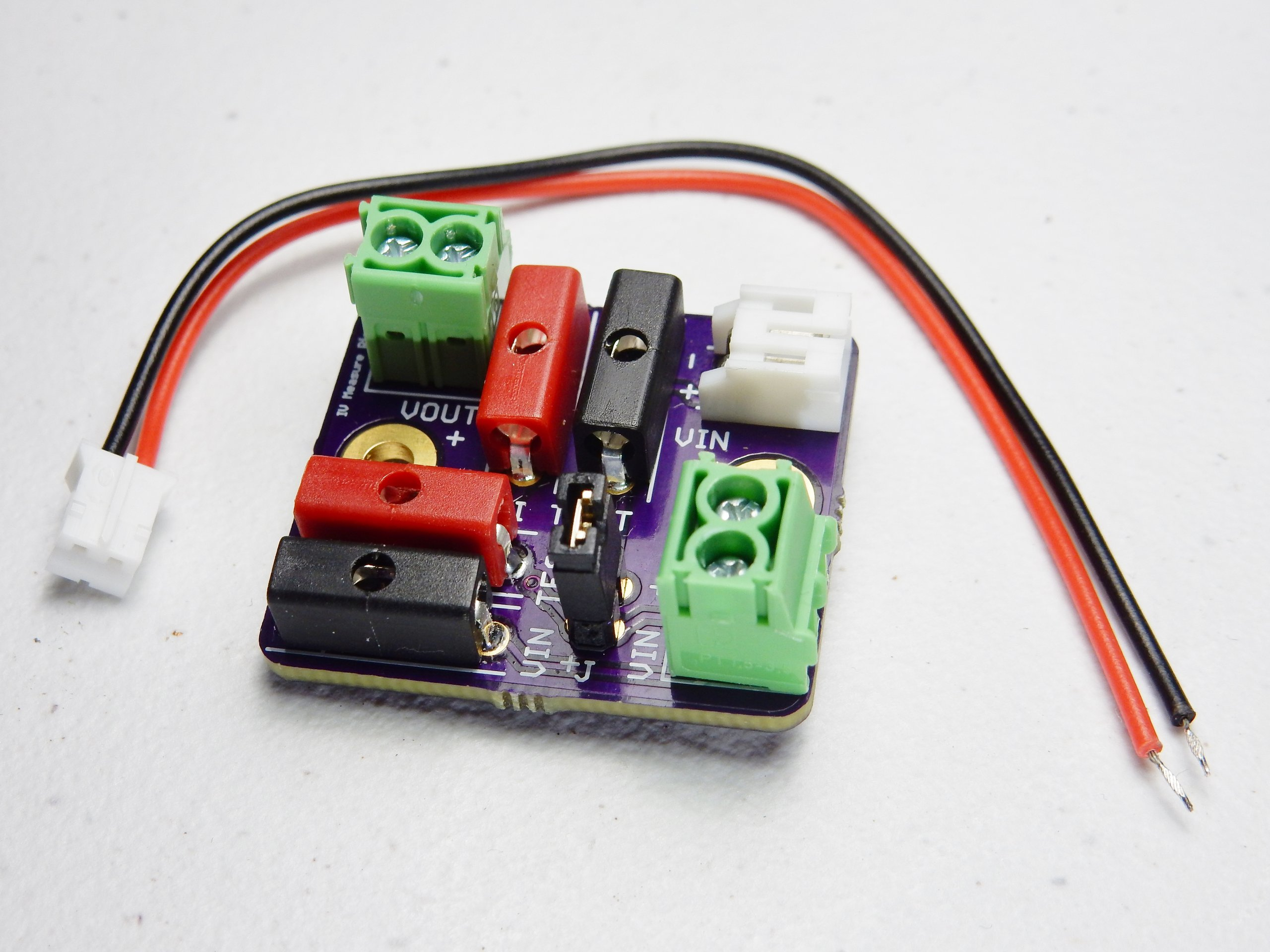 Electronics Test Jig : Power profiling voltage current test jig from