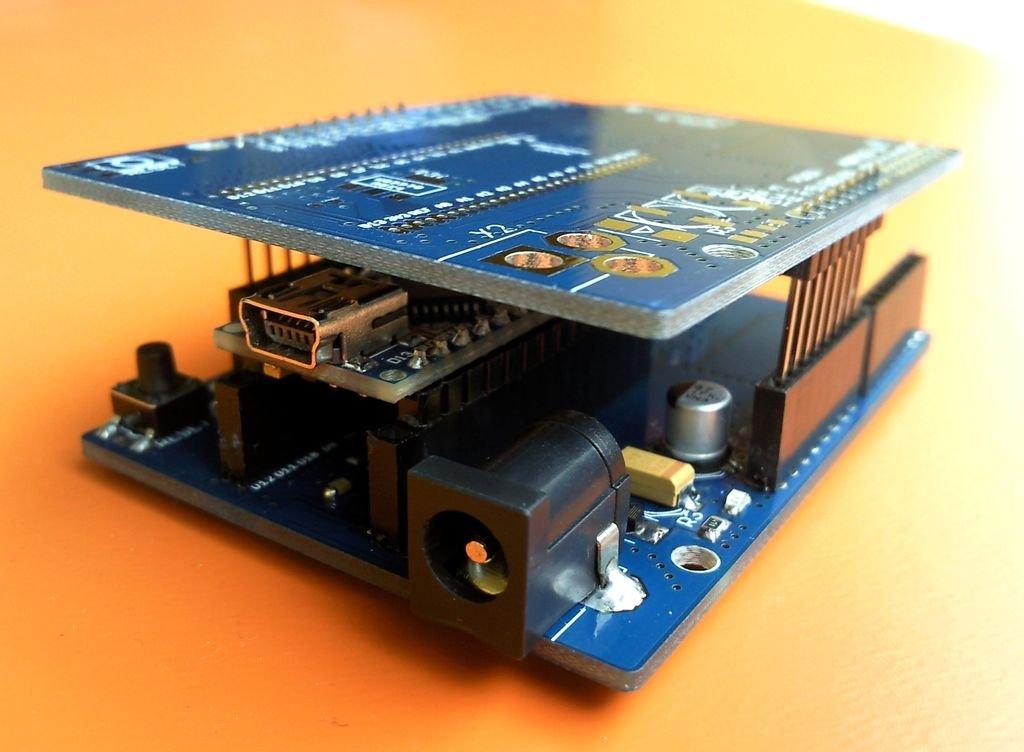 Arduino nano to uno adapter from chichomecho on tindie