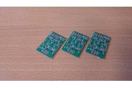 Single voltage diferential audio preamplifier