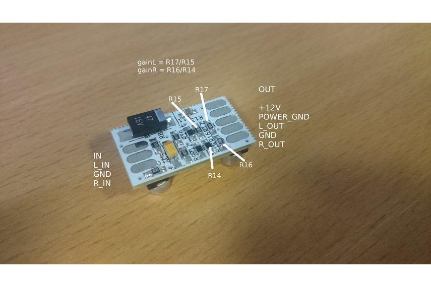 single voltage audio preamplifier