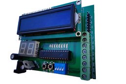 Training Board with PIC16F886