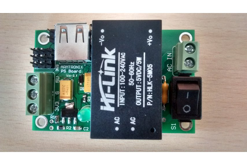 AC-DC 220V to 5V 3.3V/1A 5W Step-Down Power Supply