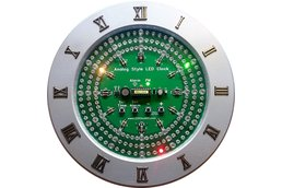 Analog Style LED Clock Kit