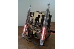 Nixie Bargraph Clock