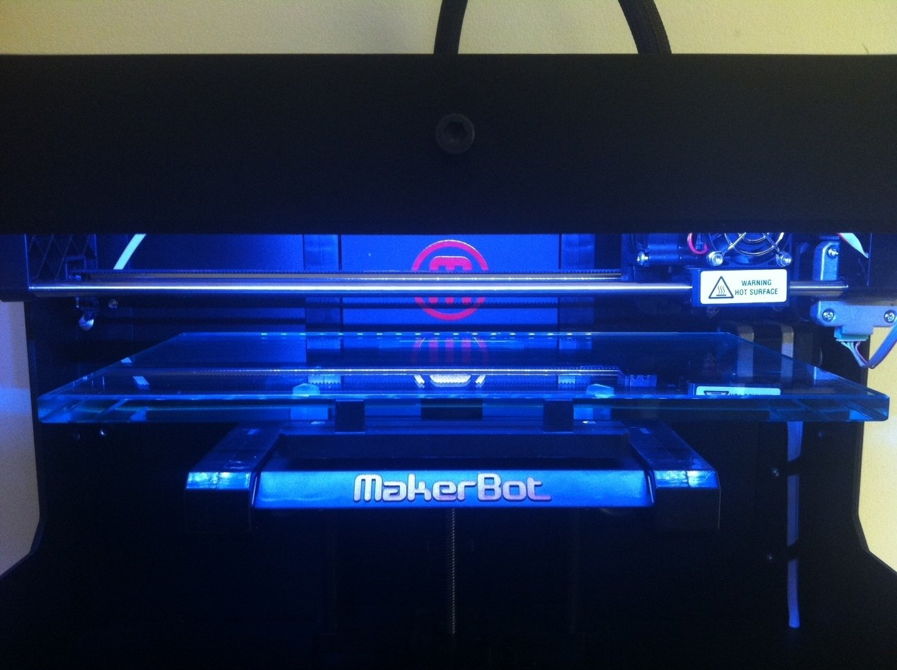 Makerbot Replicator 2 Glass Build Plate Upgrade from ...