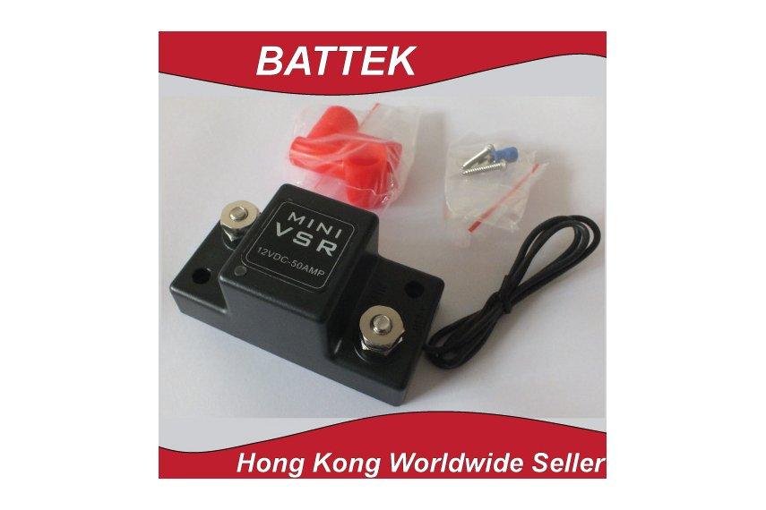 ATV UTV Motorcycle Smart Battery Isolator Mini VSR
