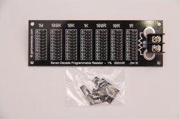 Seven Decade Prog Resistor 1R - 9999999R 1% 500mW