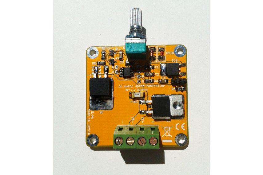 Dc Motor Speed Controller Led Dimmer Ne555 Kit From