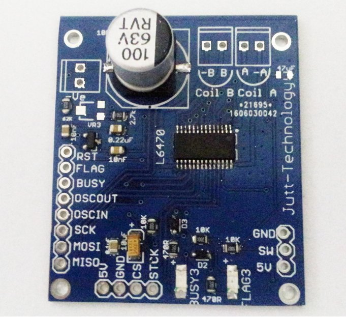 L6470 Stepper Motor Driver SPI Interface From
