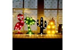 3D Night Lamp Christmas Decoration
